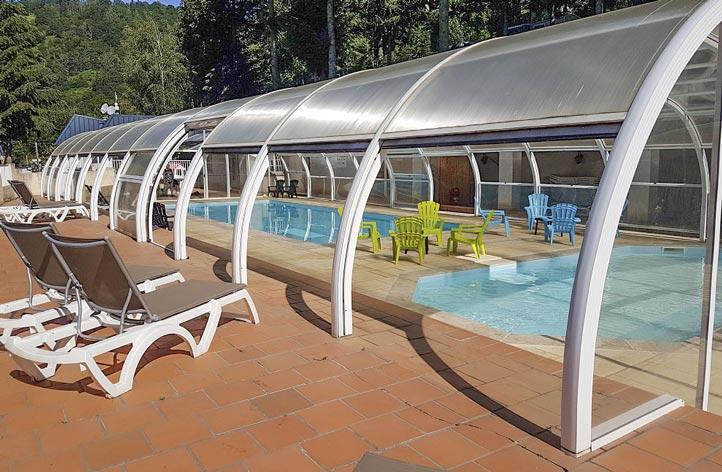 swimming pool pool camping auvergne