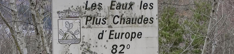 camping Chaudes Aigues belvedere