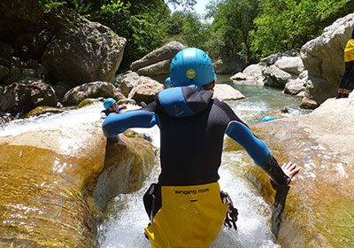 canyoning camping belvedere auvergne