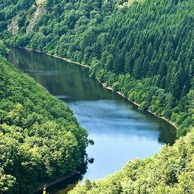 gorges camping auvergne belvedere