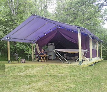 louer insolite tente camping auvergne