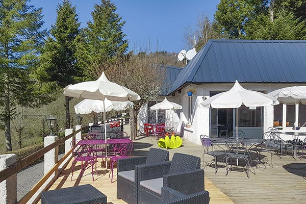 animated evenings camping cantal