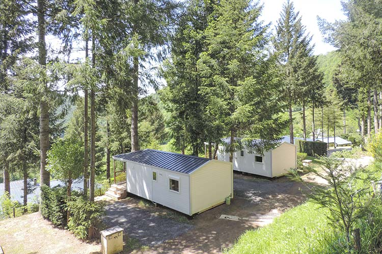 rental of a mobile home in Auvergne