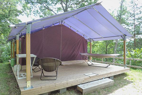locatif tente free flower camping auvergne