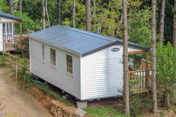 rent a mobile home in Auvergne