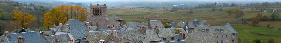 Saint Urcize village