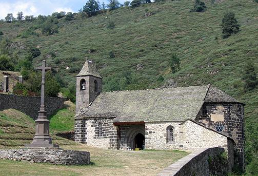 église St-Illide château d'Alleuze